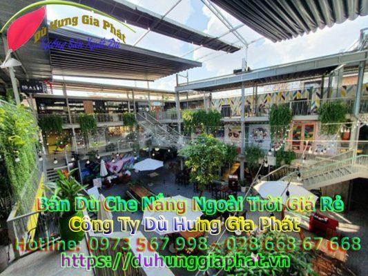 Bảng Giá Bán Dù Che Nắng Ngoài Trời Quán Cafe Tại Huyện Bình Chánh TPHCM