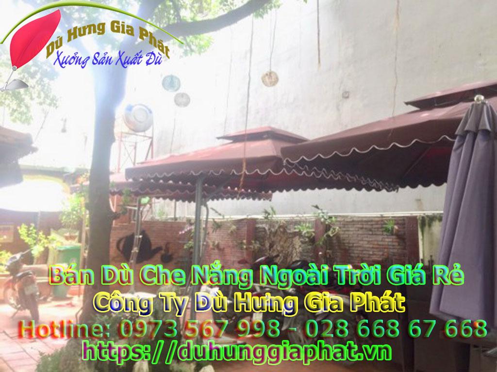 Bảng Giá Bán Dù Che Nắng Ngoài Trời Quán Cafe Tại Biên Hòa
