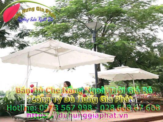 Bảng Giá Bán Dù Che Nắng Ngoài Trời Quán Cafe Tại Quận 6 TPHCM