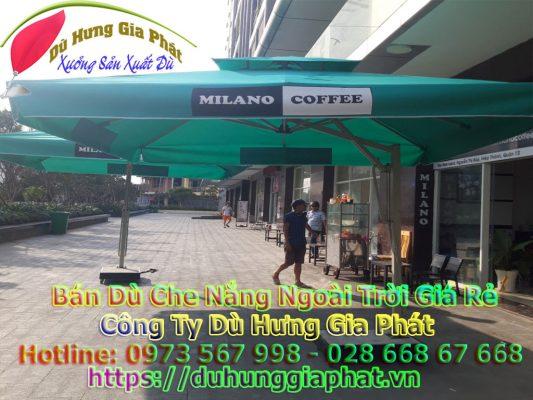 Địa Điểm Bán Dù Che Nắng Quán Cafe Giá Rẻ | Dù Vuông Lệch Tam
