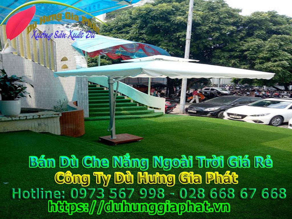 Dù Che Sân Vườn | Ô Dù Che Nắng Mưa Ngoài Trời Biệt Thự, Sân Golf, Resort Bãi Biển