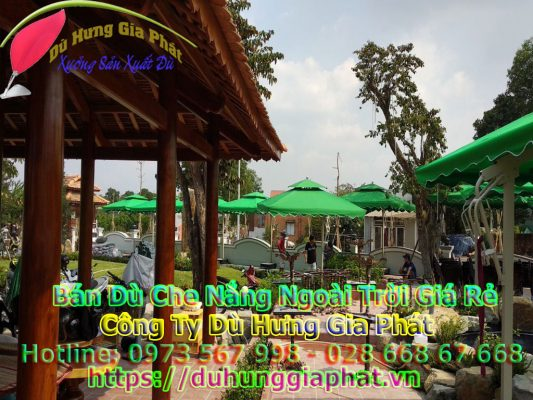 Địa Chỉ Bán Dù Che Nắng Uy Tín, Giá Rẻ Tại TPHCM