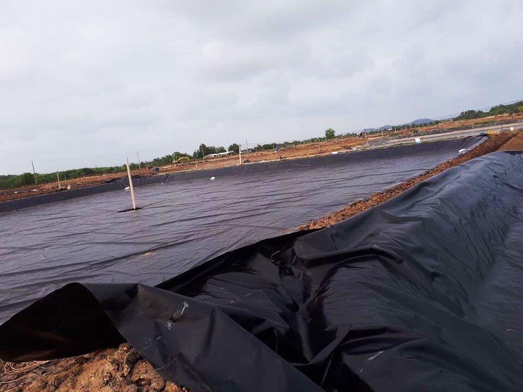 Địa Chỉ Bán Bạt HDPE Lót Ao Hồ Chứa Nước Nuôi Cá Tưới Cây Tại Đà Lạt