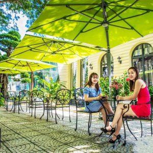 Cung Cấp Dù Che Nắng Ngoài Trời Quán Cafe, Dù Che Sân Vườn Tại TP.HCM