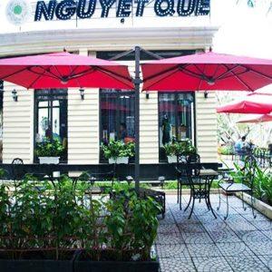 Ô Dù Che Nắng Mưa Quán Cafe Sân Vườn Giá Rẻ Tại TPHCM